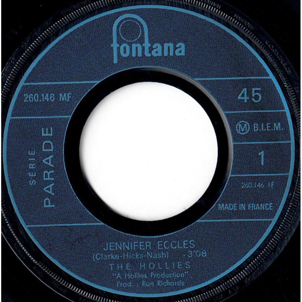 THE HOLLIES Jennifer Eccles / Try It