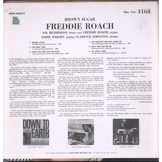 Freddie Roach brown sugar