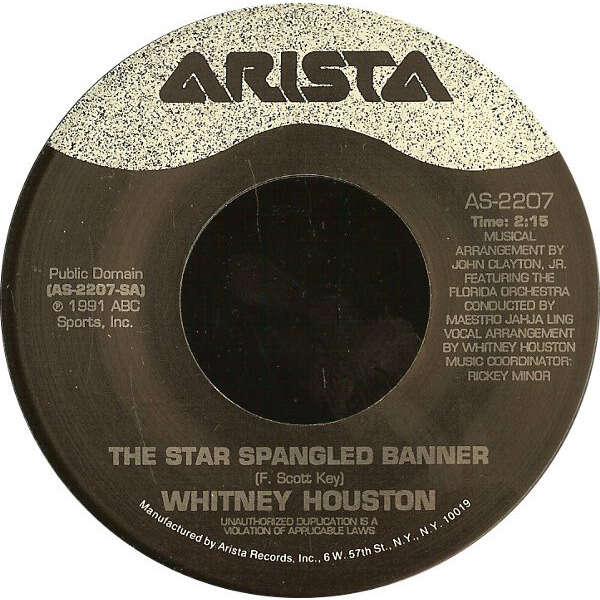 Whitney Houston The Star Spangled Banner