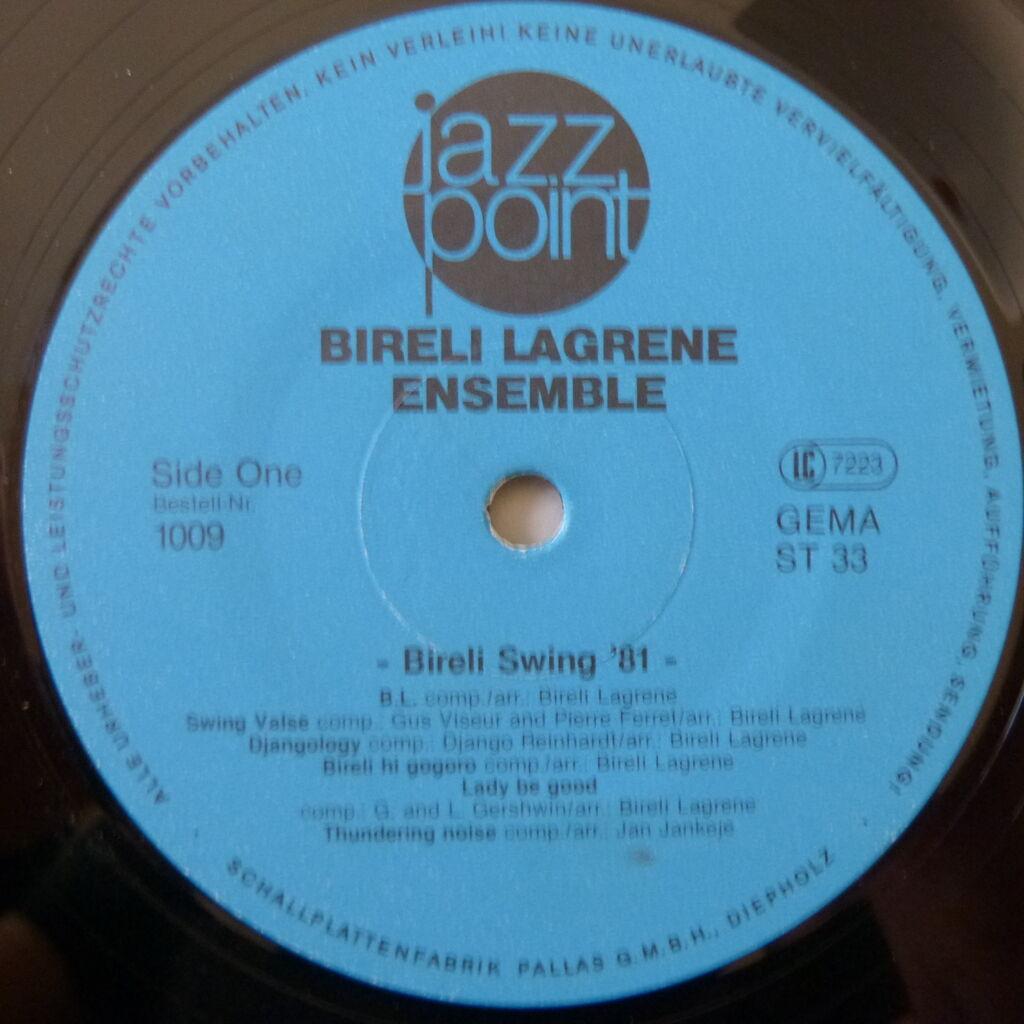 BIRELI LAGRENE ENSEMBLE BIRELI SWING '81