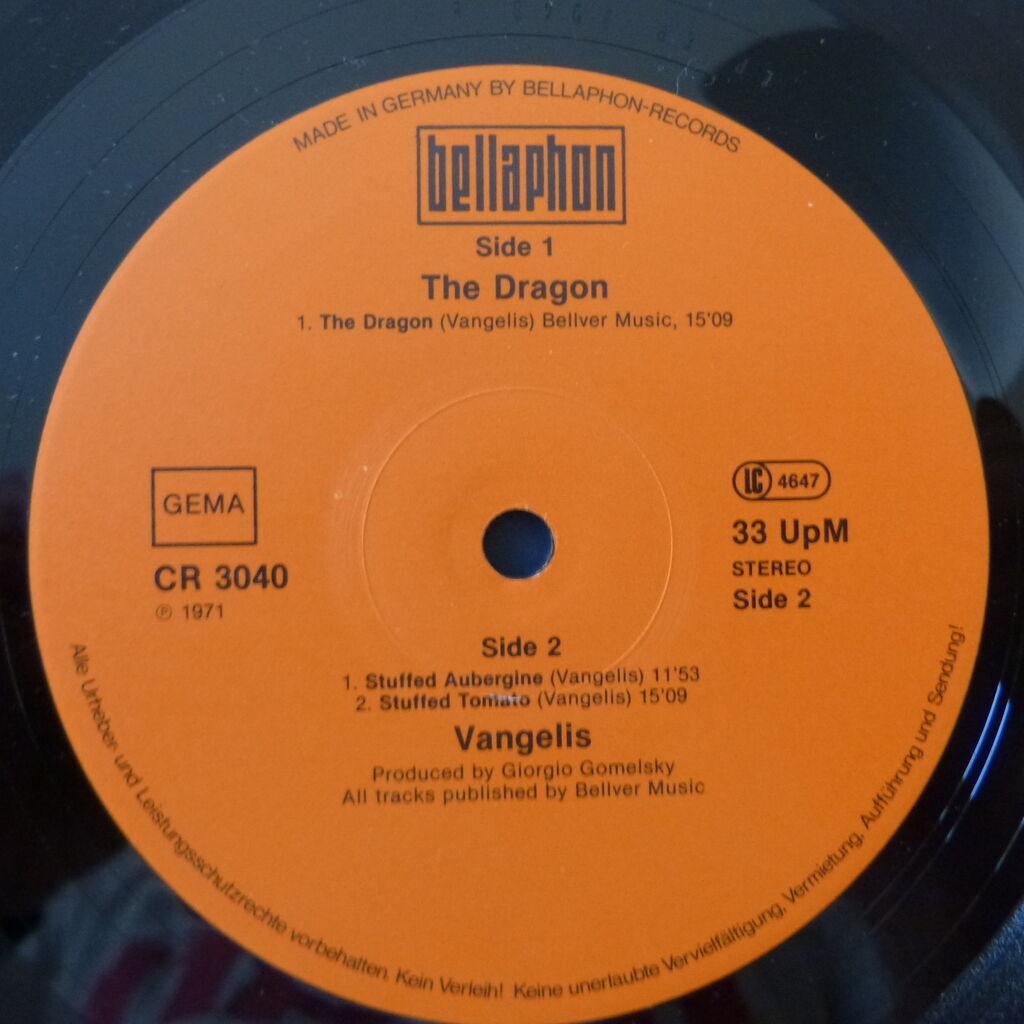 VANGELIS THE DRAGON
