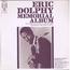 ERIC DOLPHY - Memorial album - LP