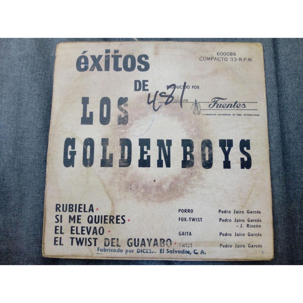 Los Golden Boys Rubiela / Si Me Quieres / El Elevao / El Twist Del Guayabo