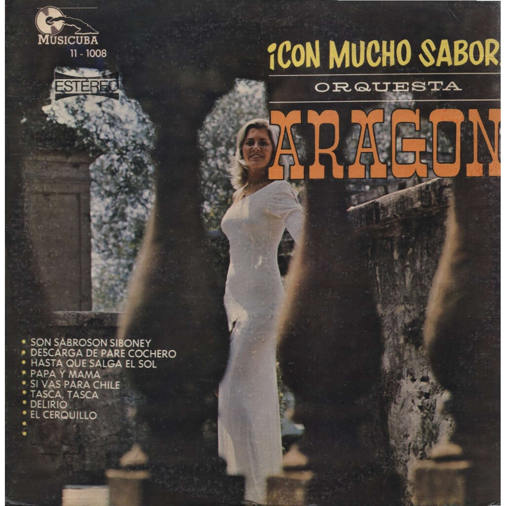 Orquesta ARAGON Con Mucho Sabor ! (ORIGINAL 1er pressage / 1st pressing)