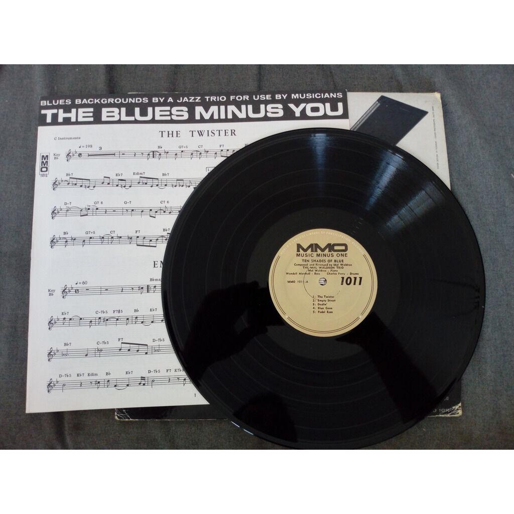 The Mal Waldron Trio The Blues Minus You - Ten Shades Of Blue