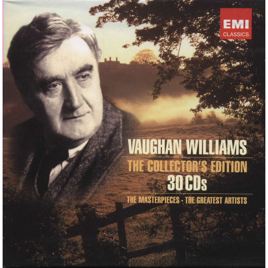 Ralph VAUGHAN WILLIAMS 30 CDs The Collector's Edition / The Masterpieces - The Greatest Artists