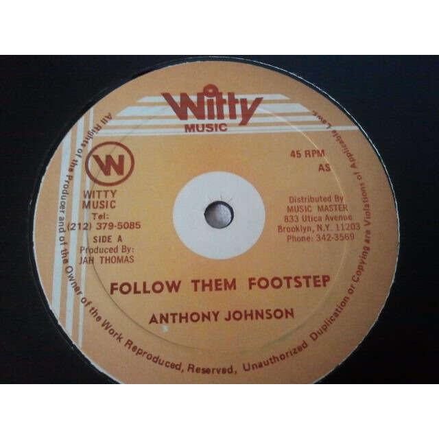 ANTHONY JOHNSON FOLLOW THEM FOOTSTEP / VERSION ORIG