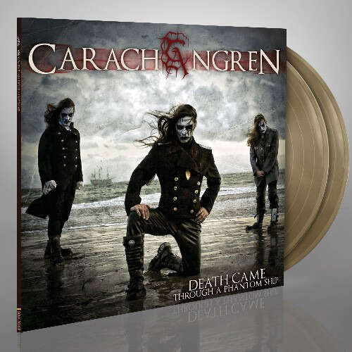 CARACH ANGREN Death Came Through a Phantom Ship. Gold Vinyl