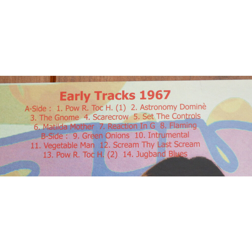 Pink Floyd Early Tracks 1967 / Special limited edition picture disc for Pink Floyd Fan Club Japan