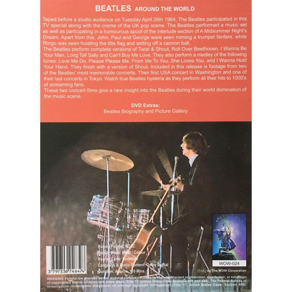 BEATLES - AROUND THE WORLD (SPECIAL T.V. U.K. POP SCENE, APRIL, 28, 1964)