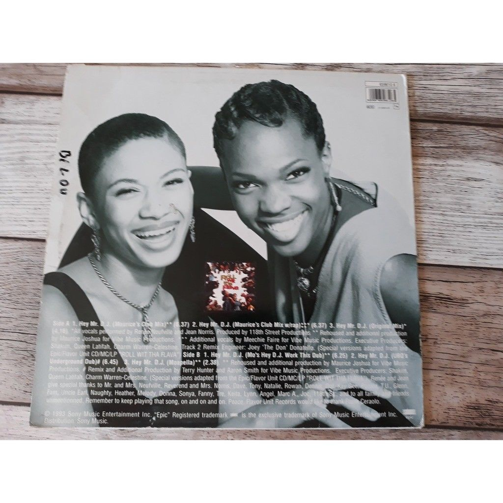 Zhané - Hey Mr. D.J. (12) 1993 Zhané - Hey Mr. D.J. (12) 1993