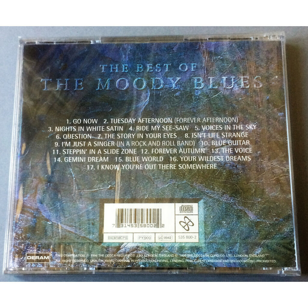 THE MOODY BLUES THE BEST OF