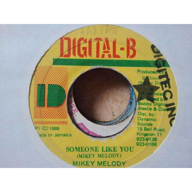 Mikey Melody Someone Like You / FAR EAST VERSION ORIG