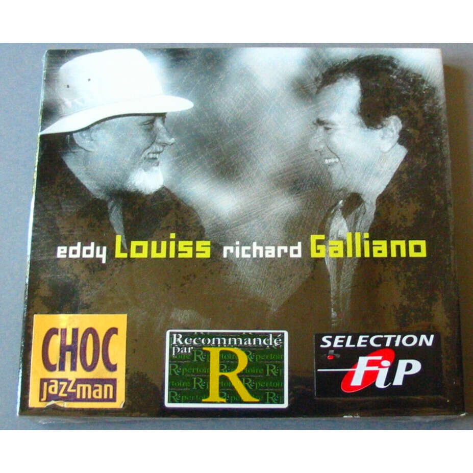 EDDY LOUISS RICHARD GALLIANO FACE TO FACE