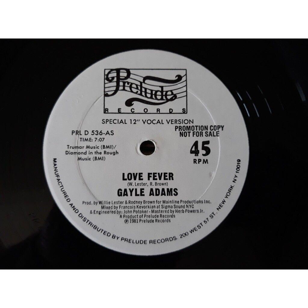 Gayle Adams - Love Fever (12, Promo)1981 Gayle Adams - Love Fever (12, Promo)1981
