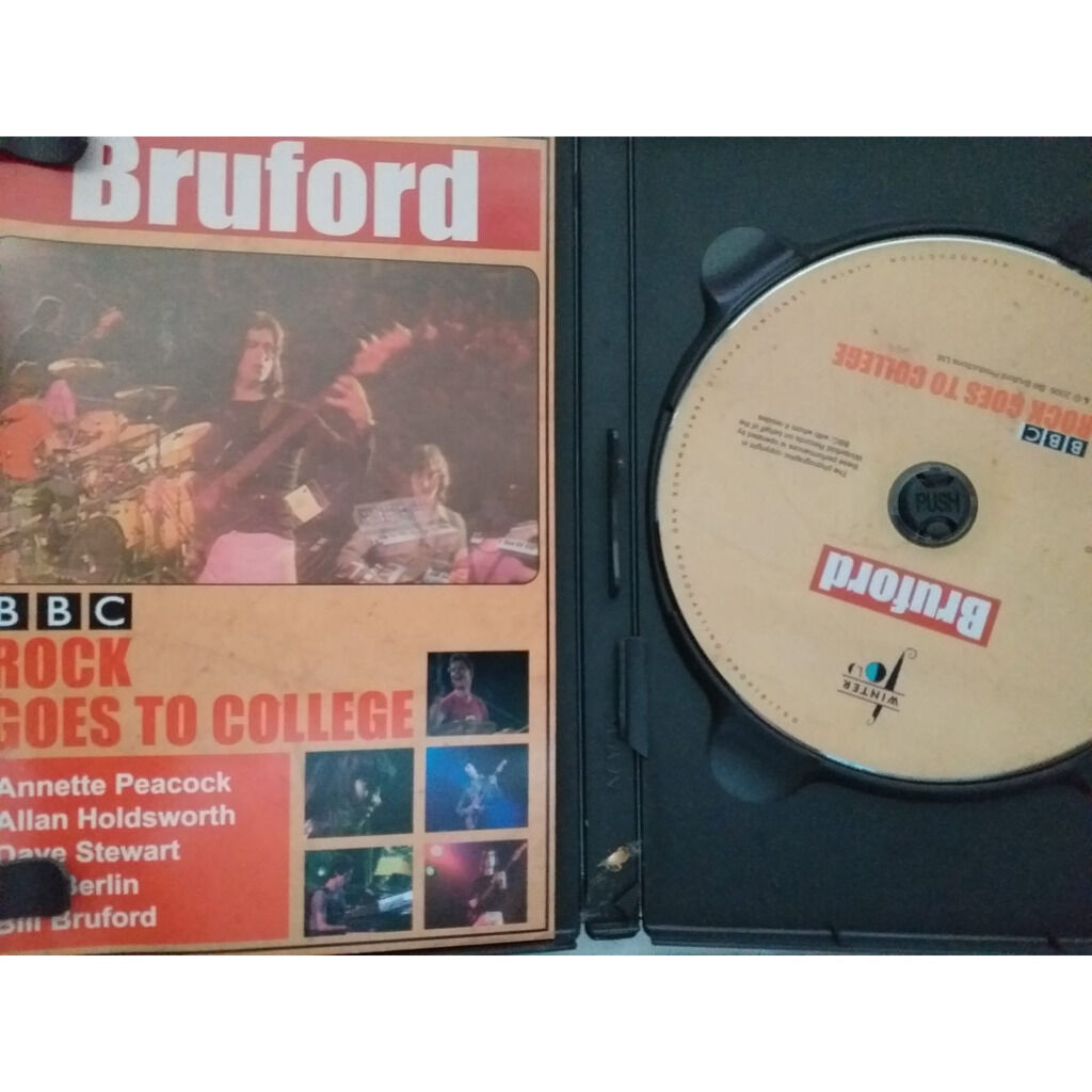 bruford rock goes to college