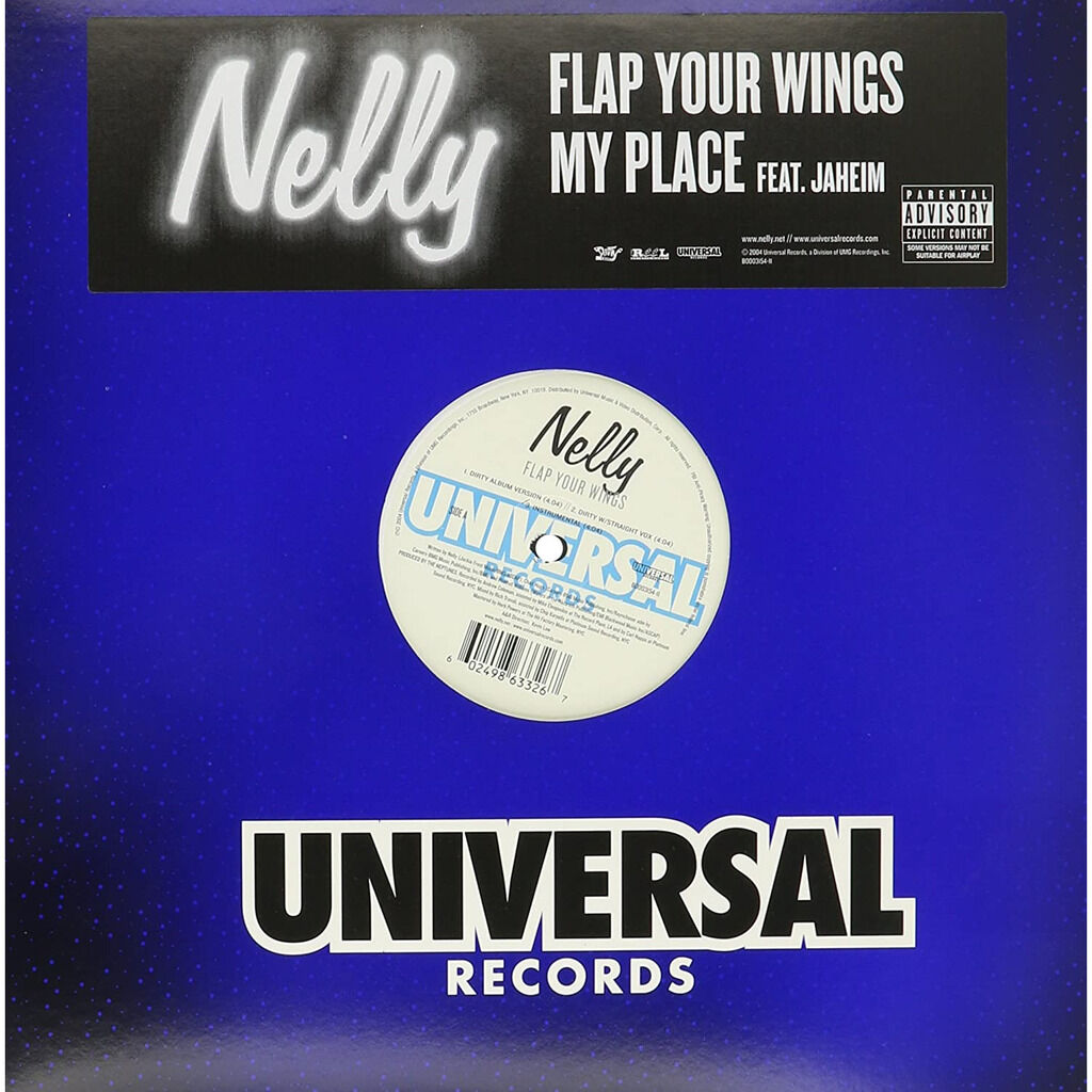 Nelly featuring Jaheim ******Brand New Sealed**** Flap your Wings/ My Place