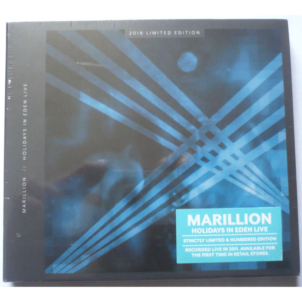MARILLION HOLIDAYS IN EDEN LIVE ( numbered edition )
