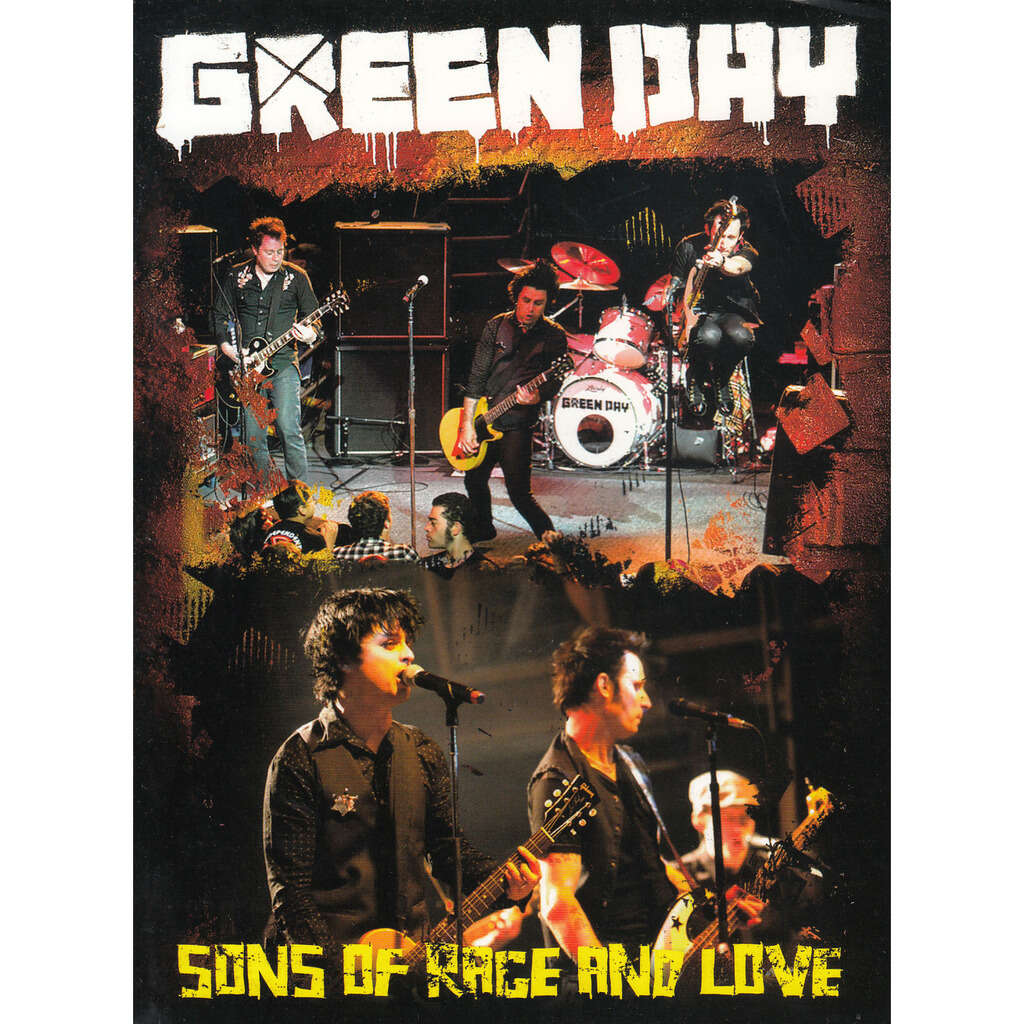 GREEN DAY SONS OF RACE AND LOVE