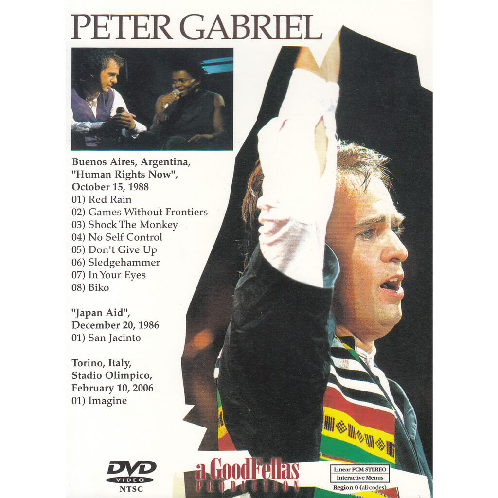 peter gabriel DON'T GIVE UP (ARGENTINA)