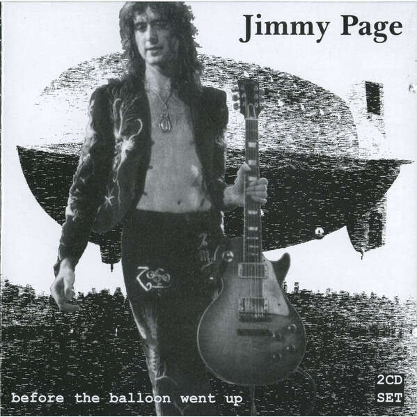 Jimmy Page Before The Balloon Went Up