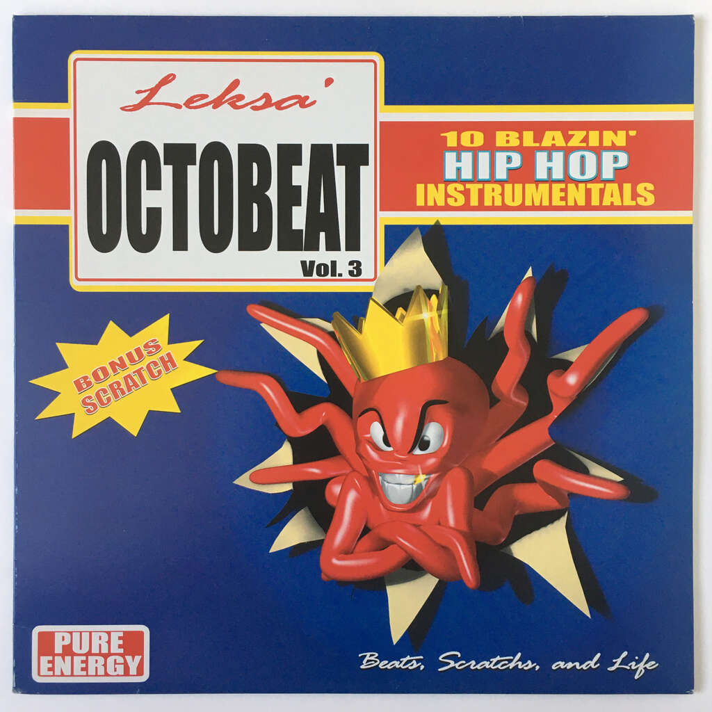 Leksa OCTO BEAT Vol.3 Beats, Scratch and Life