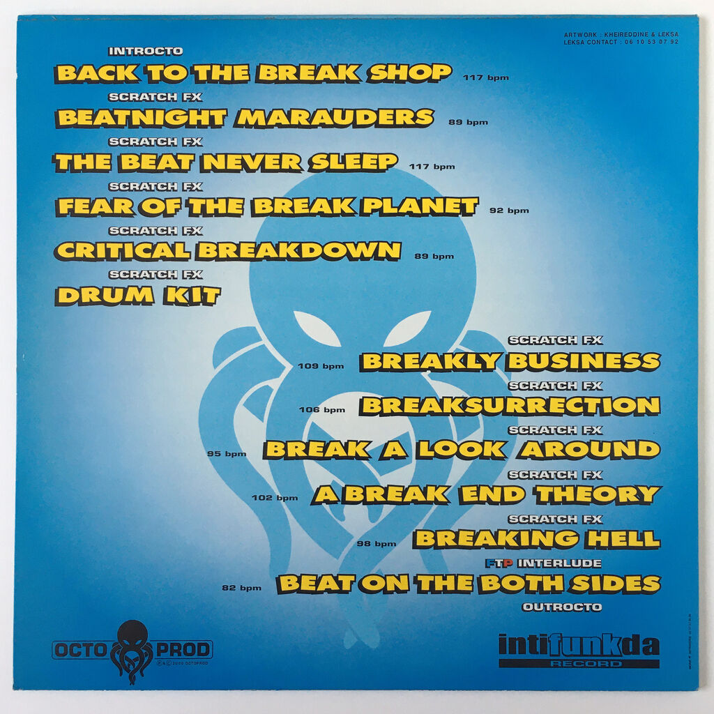 Leksa Octo Beat Vol.2 Acme Scratch