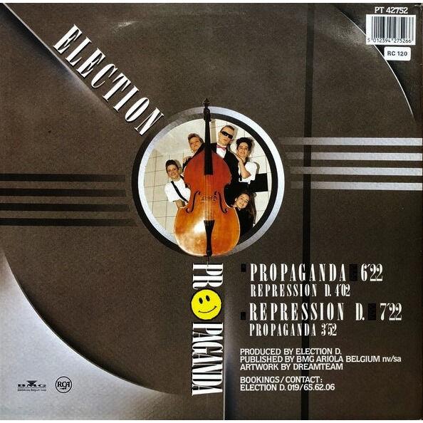 ELECTION D. propaganda - 2mix / repression D. - 2mix