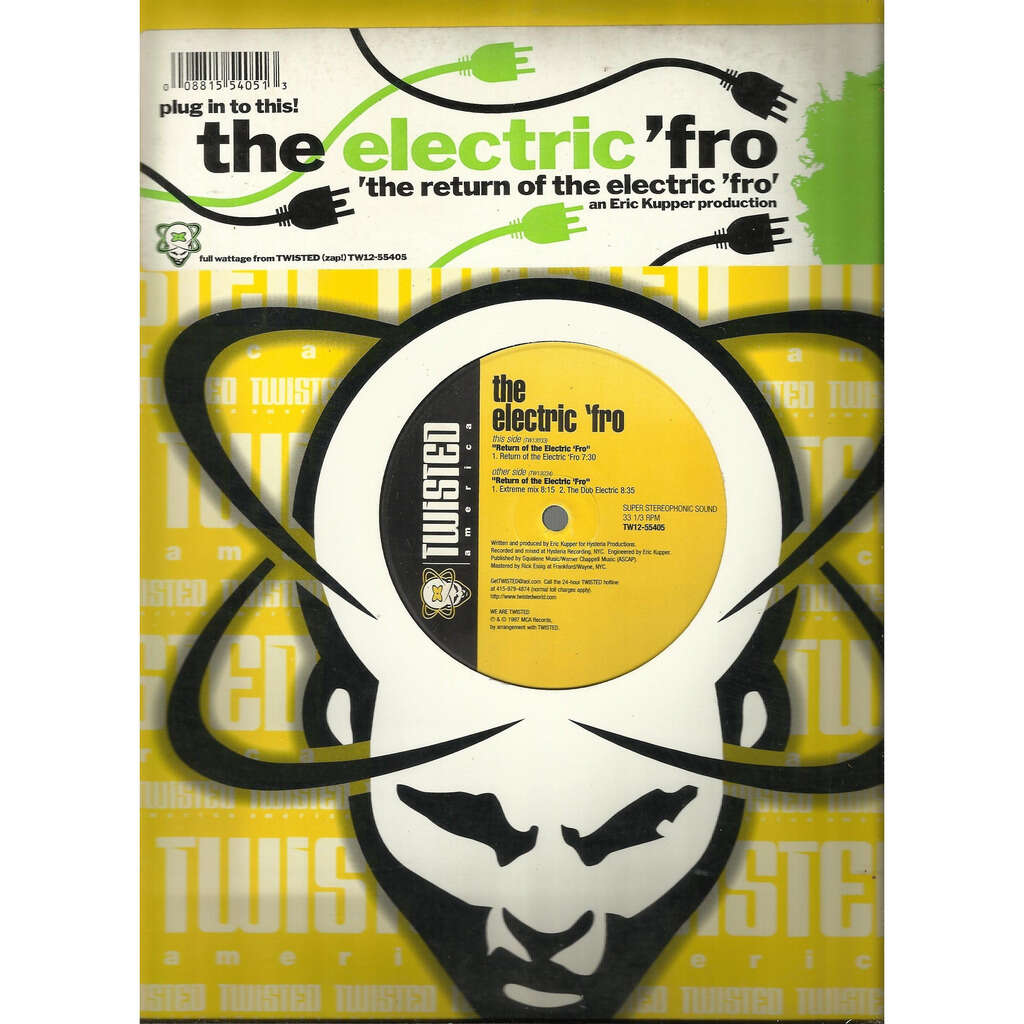 ELECTRIC 'FRO the return of the electric 'fro - 3mix