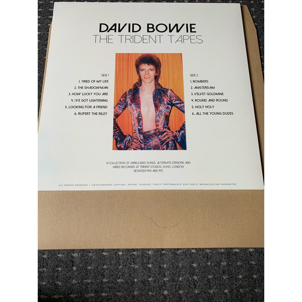 DAVID BOWIE THE TRIDENT TAPES PINK VINYL