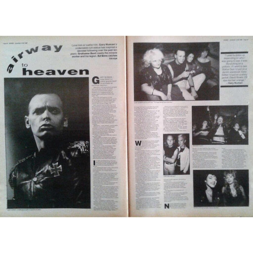 Gary Numan Sounds (23/30.09.1989) (UK 1989 large format music magazine!)