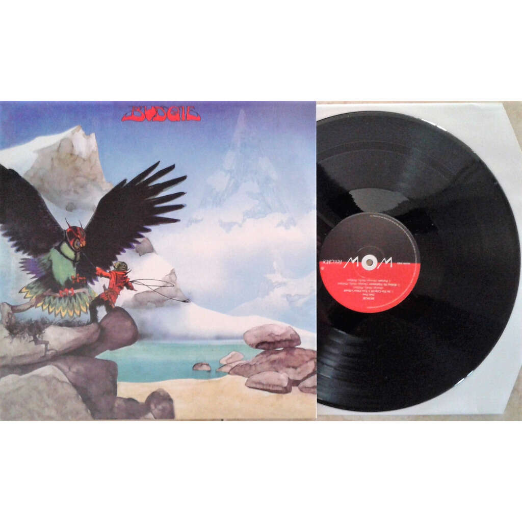 Budgie Never Turn Your Back On A Friend (Sweden 2012 ltd 500 copies re 7-trk LP full gf ps)