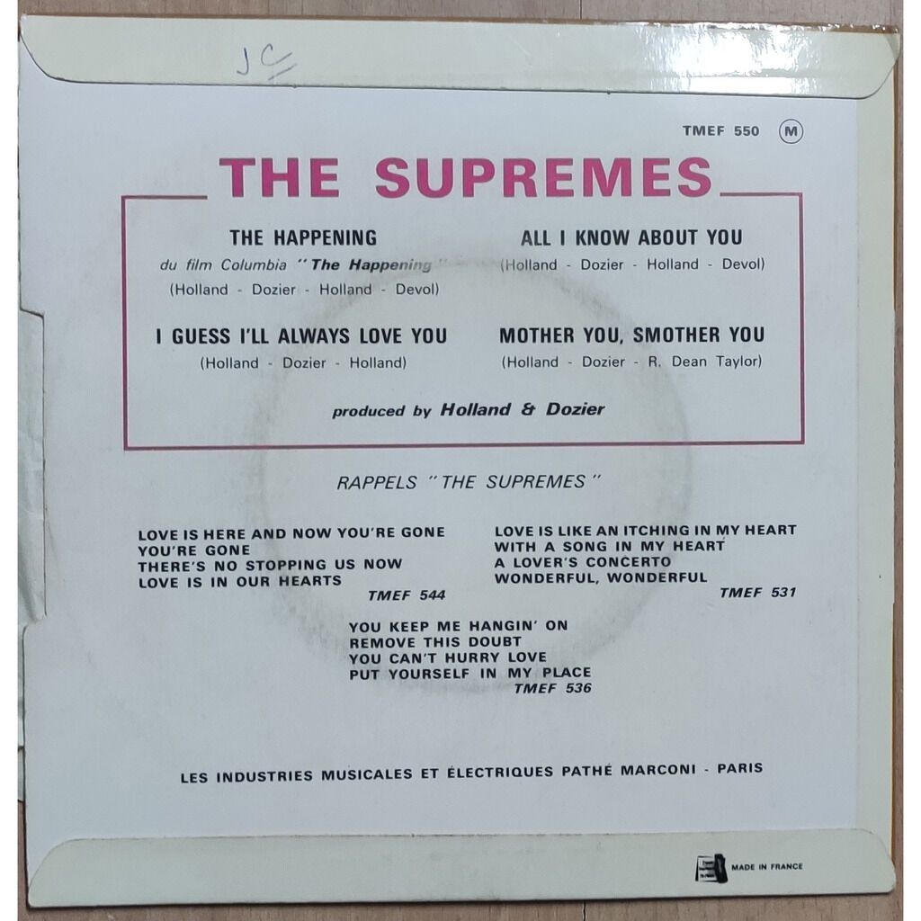 supremes the happening