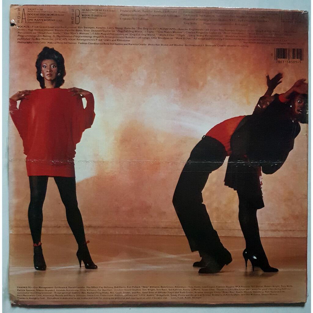 Fredi Grace And Rhinstone Tight (LP, MiniAlbum)