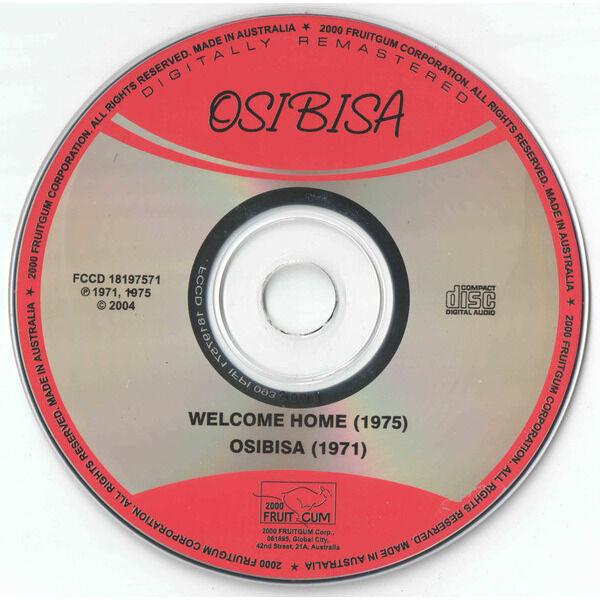 Osibisa Welcome Home / Osibisa