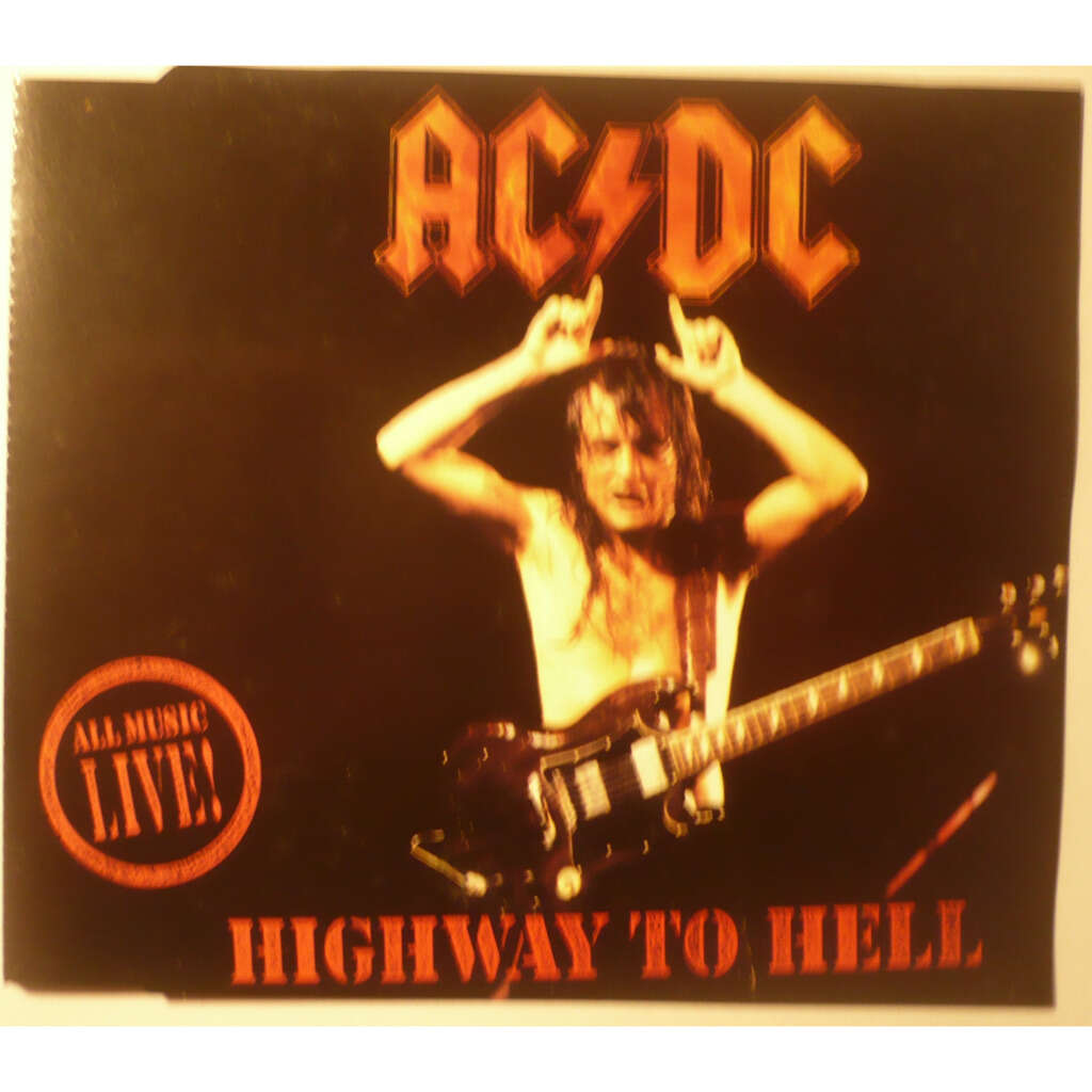 ac/dc Highway to hell - Live