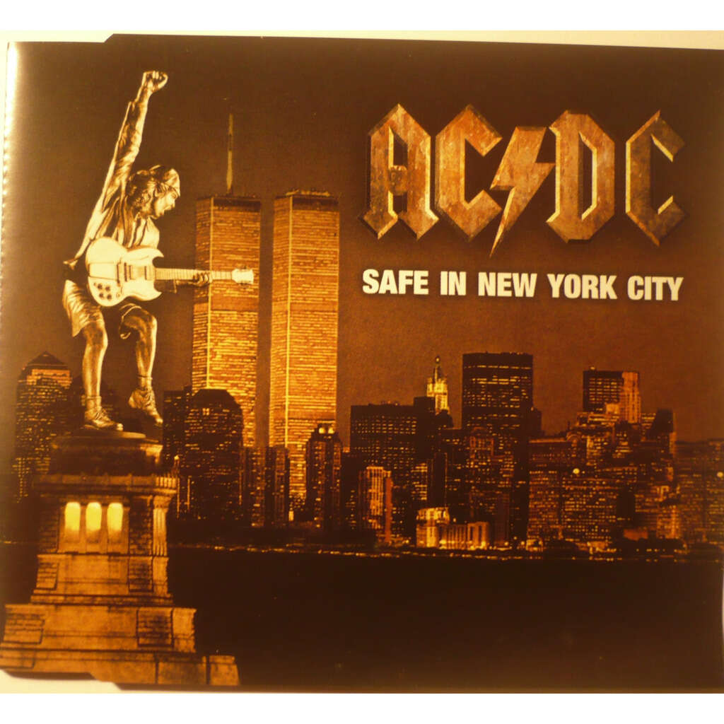 ac/dc SAFE IN NEW YORK CITY