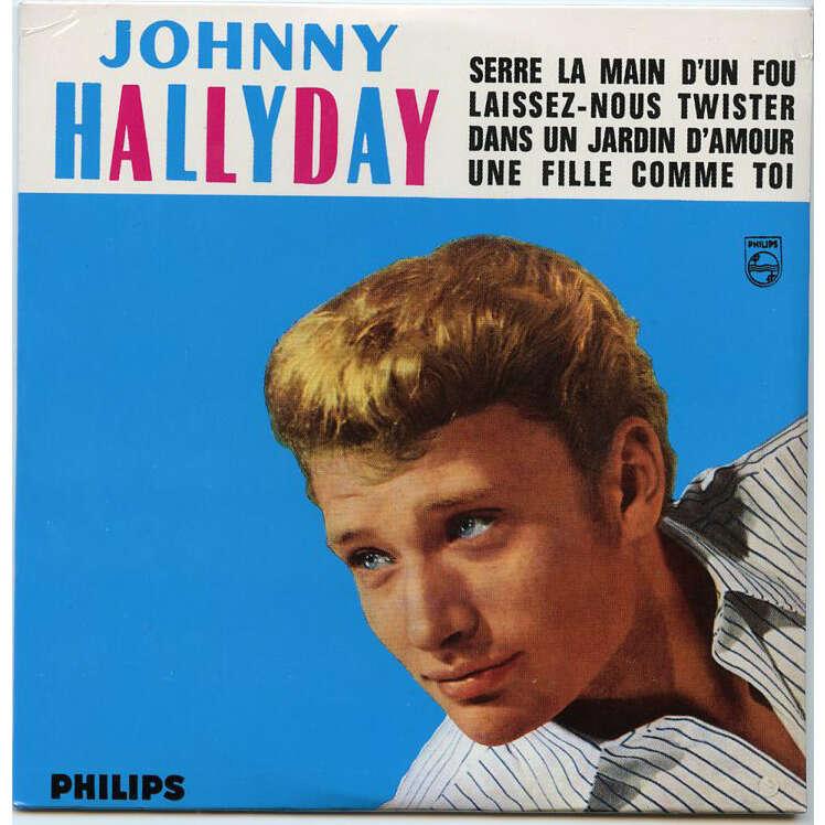 johnny hallyday Cd 4 titres Serre la main d'un fou