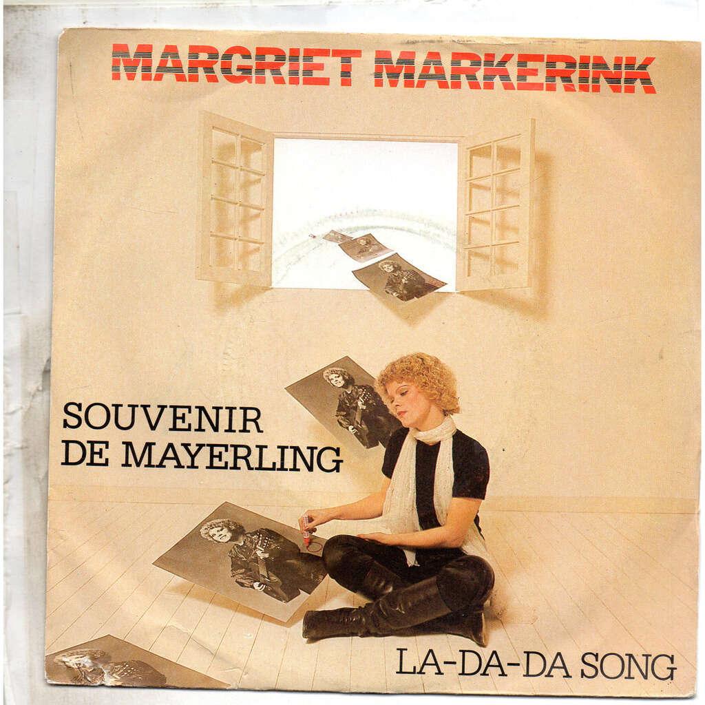 Margriet Markerink souvenir de mayerling/la-da-da song