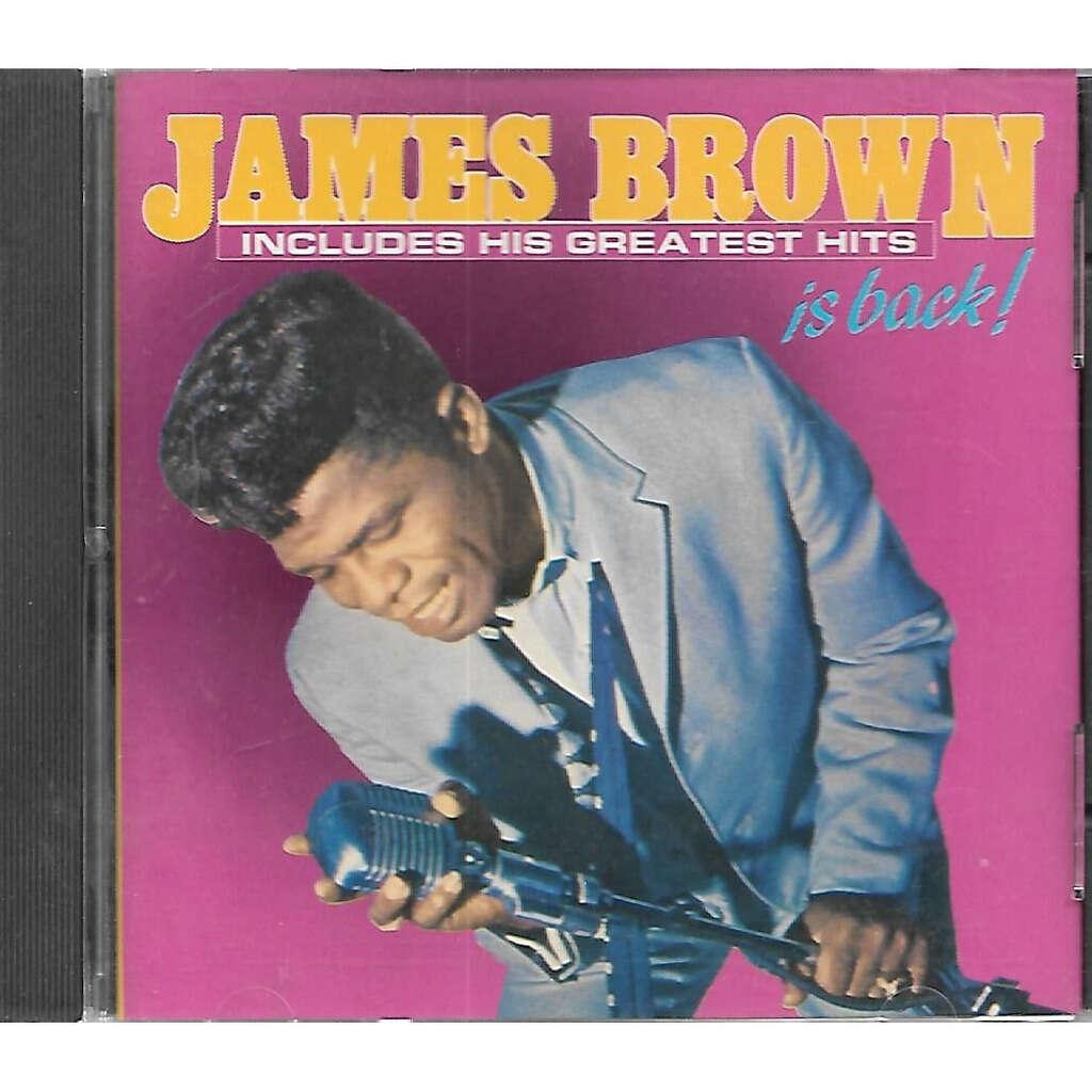 James Brown I James Brown Is Back!