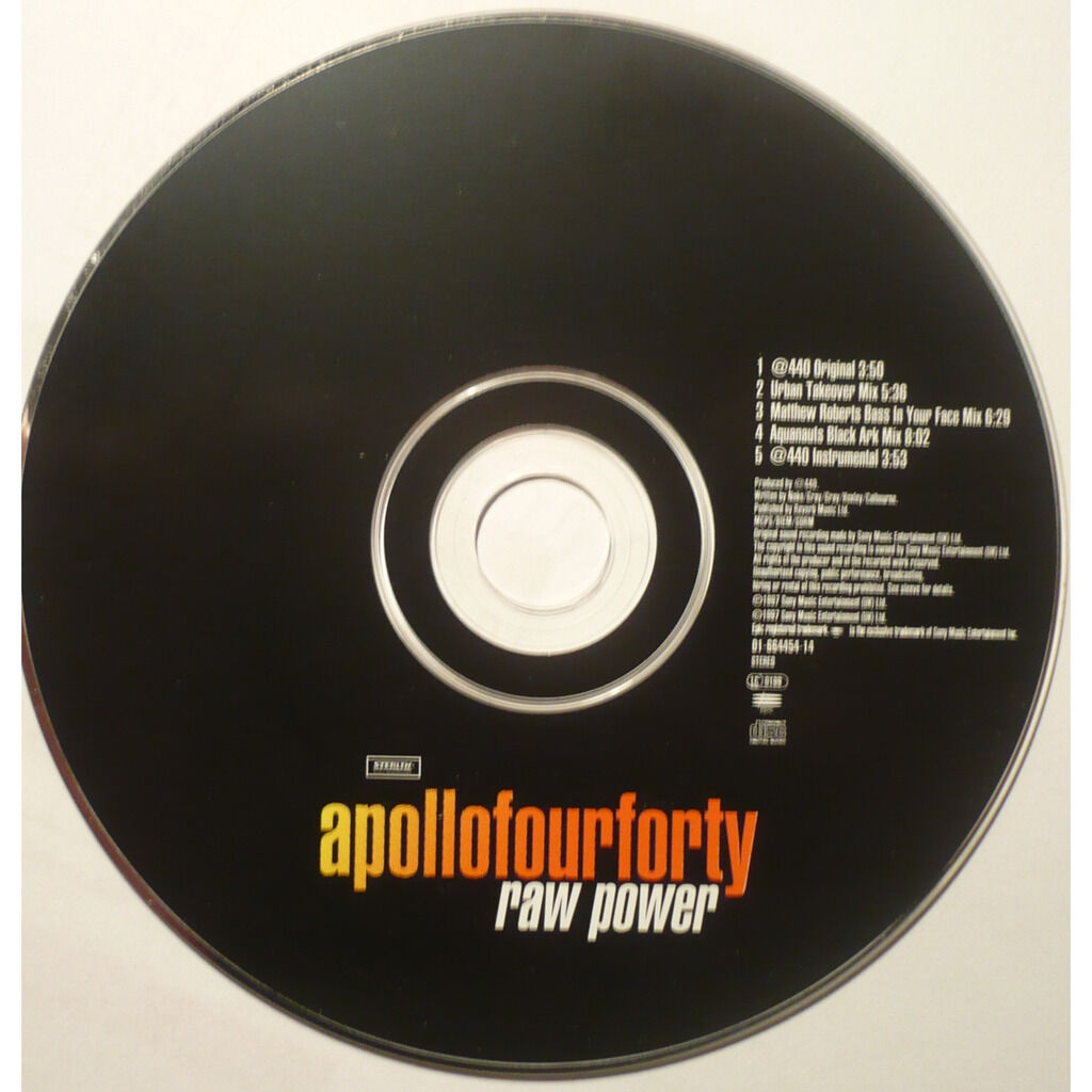 apollo four forty / apollo 440 RAW POWER