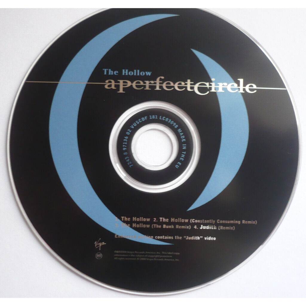 A PERFECT CIRCLE THE HOLLOW ( enhanced )