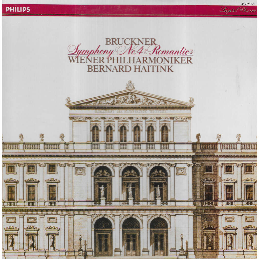 Anton BRUCKNER Symphonie n° 4 en Mi ''Romantique''