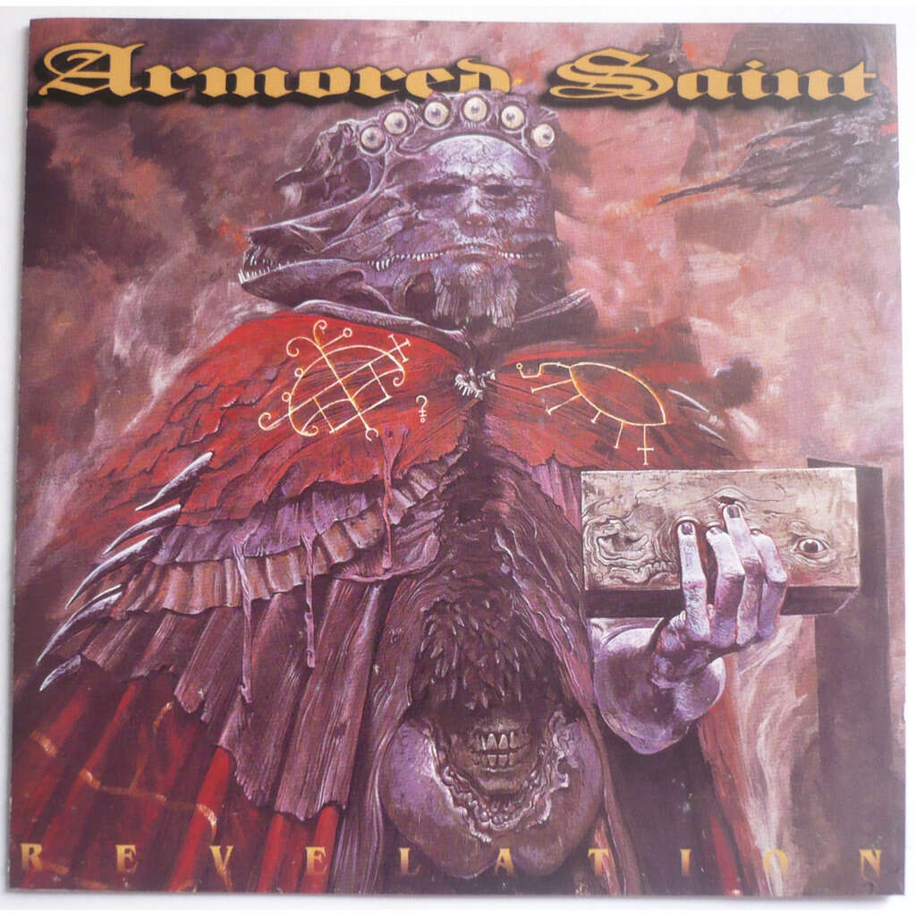 ARMORED SAINT REVELATION ( Limited edition: bonus track + CD-ROM )