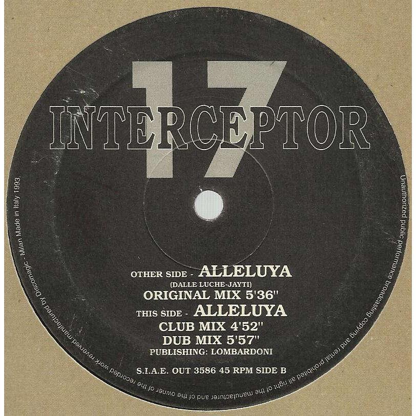 INTERCEPTOR 17 alleluya - 3mix