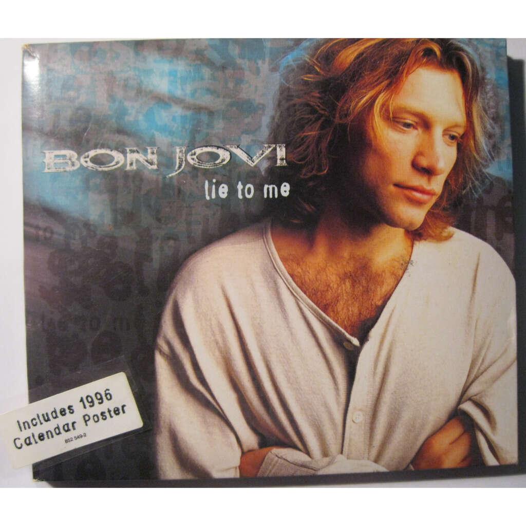 BON JOVI Lie to me ( Limited Calendar Edition )