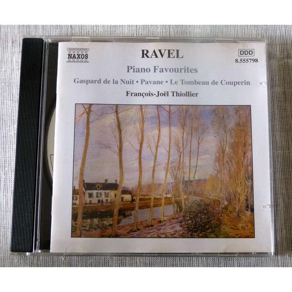 Maurice Ravel piano favourites : Gaspard de la nuit / pavane / le tombeau de Couperin
