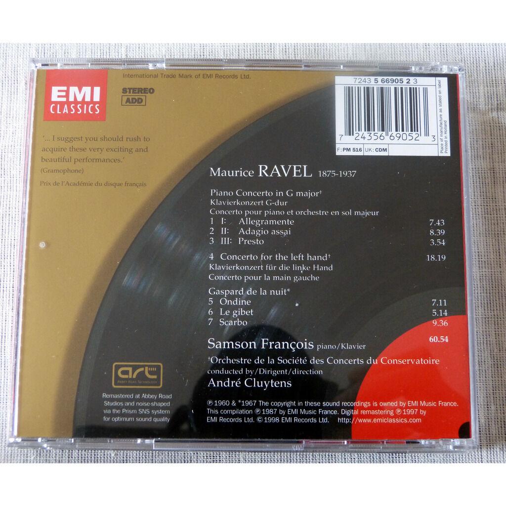 Maurice Ravel / Samson François Concertos pour piano