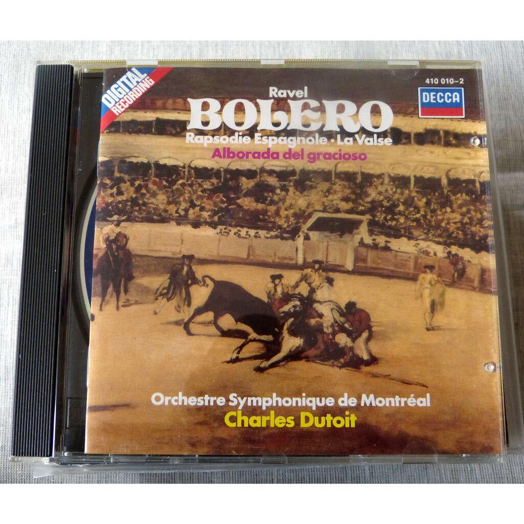 Maurice Ravel Bolero / rapsodie Espagnole / la valse / Alborada del gracioso