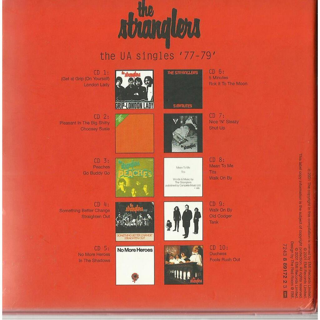 stranglers the ua singles 77-79